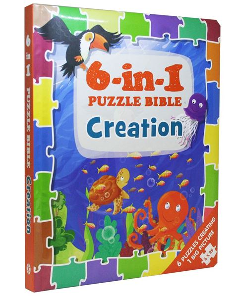 Picture of 6-in-1 Puzzle Bible: Creation