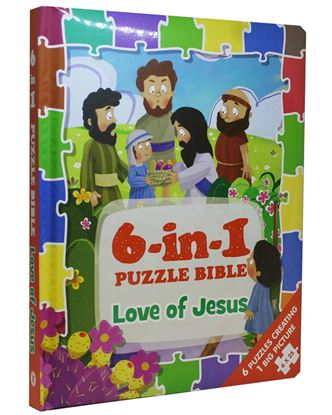 Picture of 6-in-1 Puzzle Bible: Love of Jesus