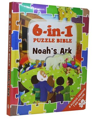 Picture of 6-in-1 Puzzle Bible: Noah's Ark