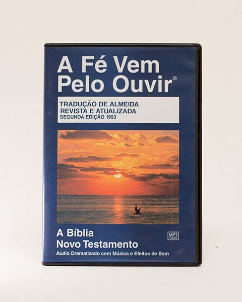 Picture of Brazilian Portuguese MP3 New Testament on CD, Dramatized