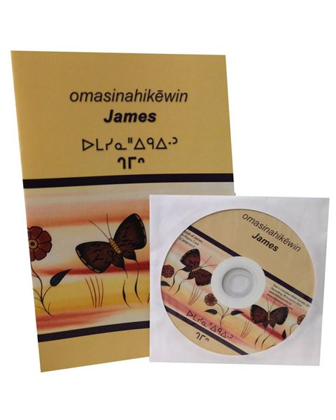 Picture of Cree Western (Plains Contemporary) Book of James – Book with CD