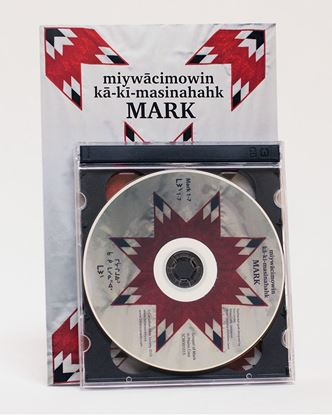 Picture of Cree Western (Plains Contemporary) Gospel of Mark – Book with 3 CDs
