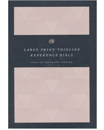 Picture of ESV Thinline Reference Bible, Large Print