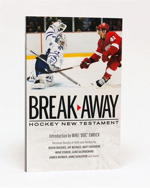 Picture of ESV 'Breakaway' Hockey New Testament