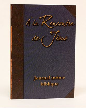 Picture of À la rencontre de Jésus - Journal intime biblique