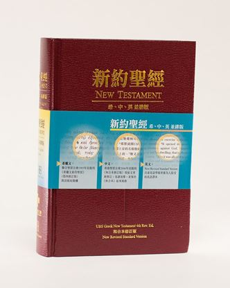 Picture of Greek-Chinese-English New Testament