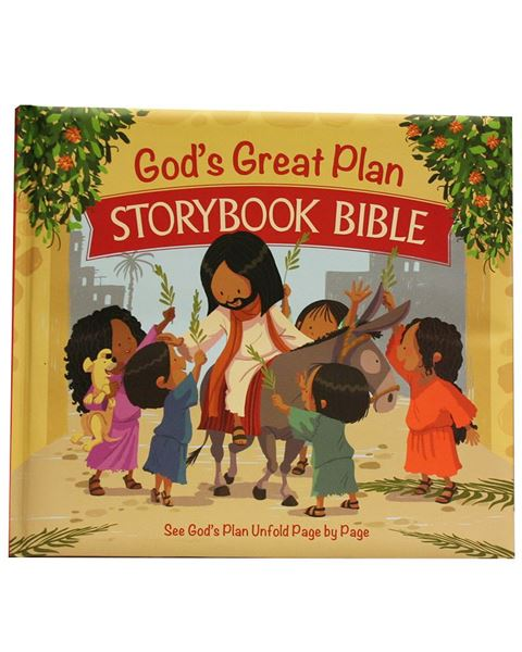 Picture of God's Great Plan Storybook Bible