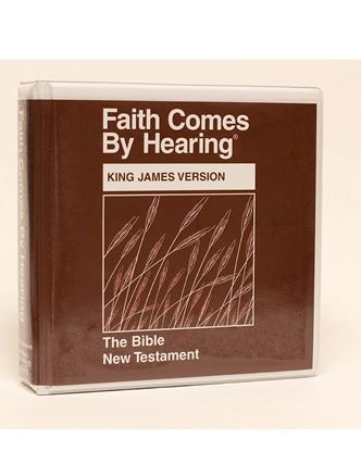 Picture of KJV New Testament on CD