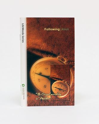 Picture of Following Jesus (The Gospel of Matthew) – LifeWords Series