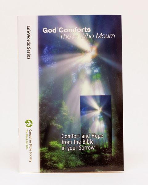 Picture of God Comforts Those Who Mourn – LifeWords Series LARGE PRINT EDITION