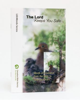 Picture of The Lord Keeps You Safe – LifeWords Series LARGE PRINT EDITION