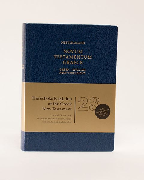 Picture of Greek-English New Testament, 28th Revised Edition