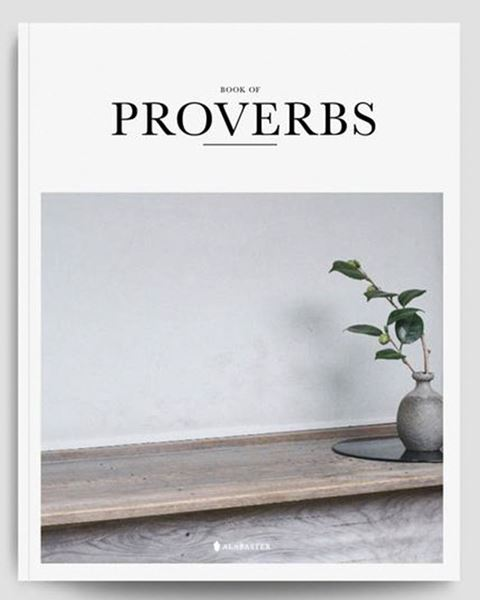 Picture of Alabaster Book of Proverbs (NLT)