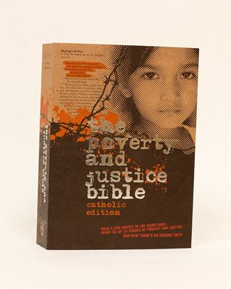 Picture of NRSV Poverty and Justice Catholic Bible