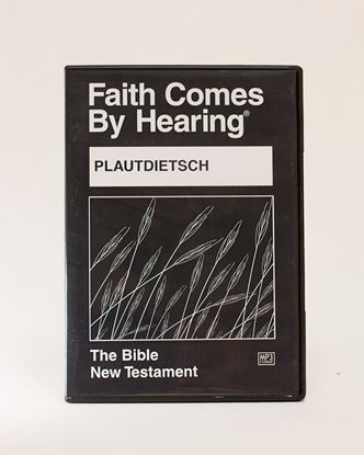 Picture of Plautdietsch (Low German/1987) MP3 New Testament on CD (1)