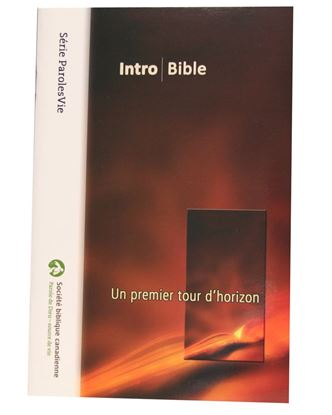 Picture of Intro Bible – Gros caractères