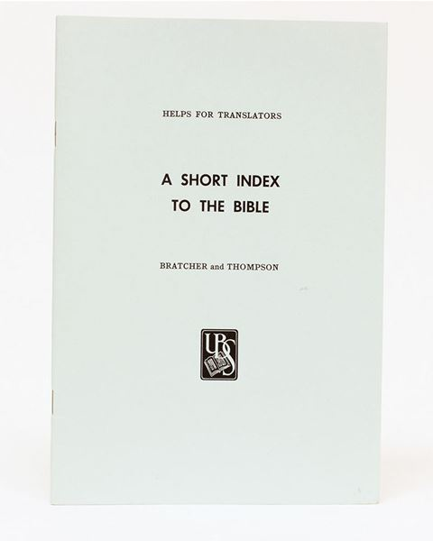 Picture of A Short Index to the Bible