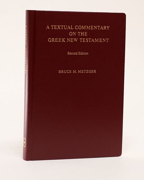 Picture of Textual Commentary on the Greek New Testament  2nd. Rev. Ed. Hardcover