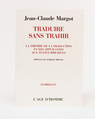 Picture of Traduire sans Trahir