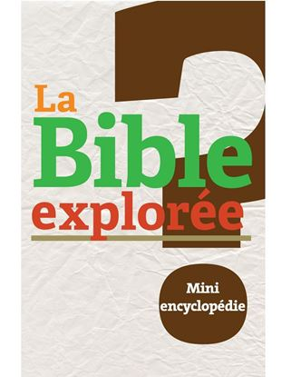 Picture of Bible explorée 4: Mini encyclopédie