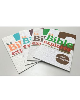 Picture of Bible explorée – collection (4 livres)
