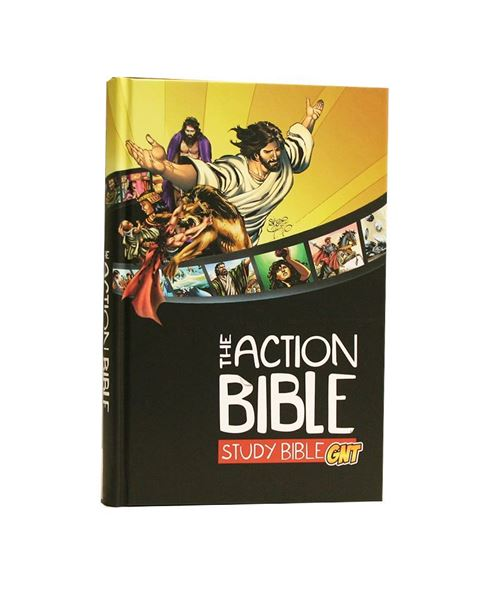 Picture of The ACTION BIBLE Study Bible - Good News Translation