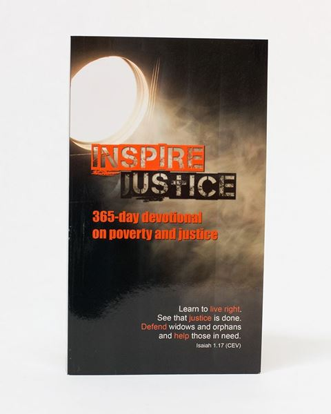 Picture of Inspire Justice: 365 Day Devotional on Poverty and Justice EPUB