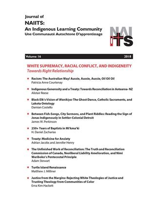 Picture of Journal of NAIITS Volume 16 - 2018 - For Institutions
