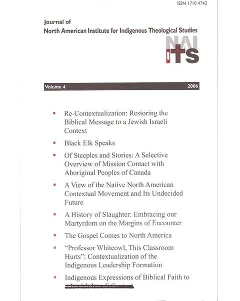 Picture of Journal of NAIITS Volume 04 - 2006