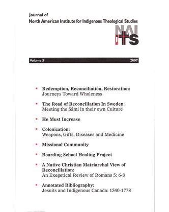 Picture of Journal of NAIITS Volume 05 - 2007 - For Institutions