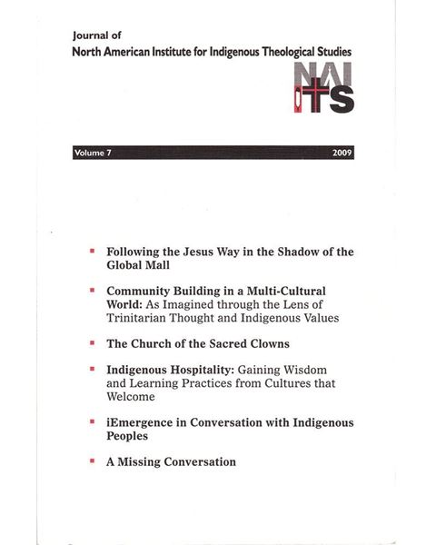 Picture of Journal of NAIITS Volume 07 - 2009 - For Institutions