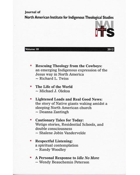 Picture of Journal of NAIITS Volume 10 - 2012 - For Institutions
