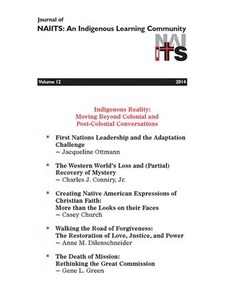 Picture of Journal of NAIITS Volume 12 - 2014 - For Institutions