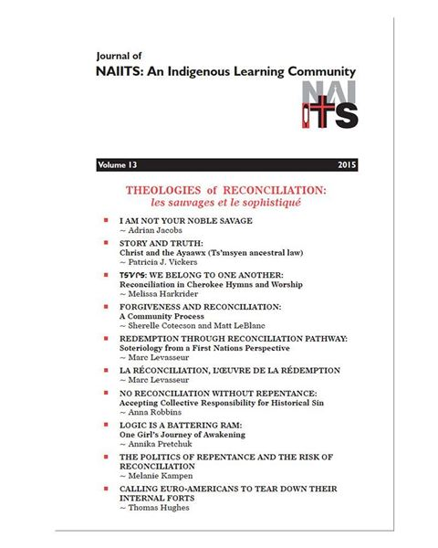 Picture of Journal of NAIITS Volume 13 - 2015