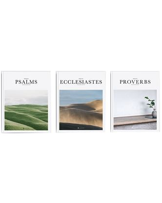 Picture of Alabaster Wisdom Collection (Psalms, Proverbs & Ecclesiastes)