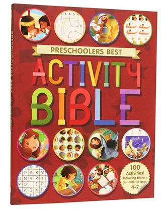 Picture of Preschoolers Best Activity Bible