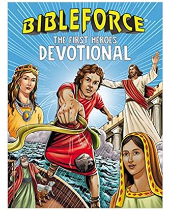 Picture of BibleForce Devotional: The First Heroes Devotional