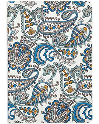 Picture of Handmade Embroidered Journal (Large, Paisley)