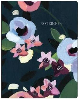 Picture of Painted Petals Deluxe Spiral Notebook