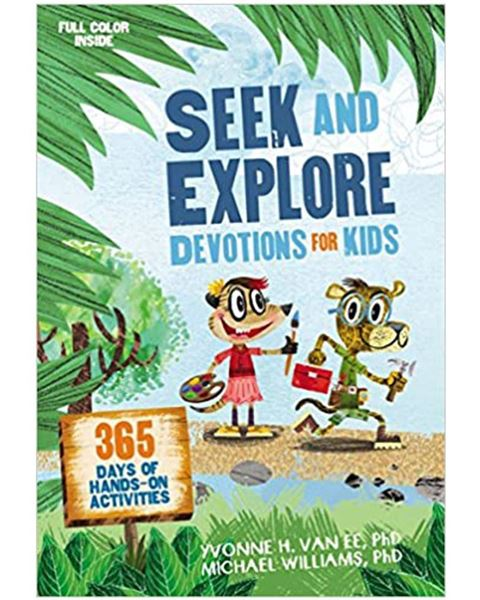 Picture of Seek and Explore Devotions for Kids: 365 Days of Hands-on Activities