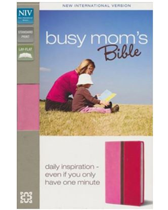 Picture of NIV Busy Mom's Bible (Pink/Hot Pink Duo-tone)