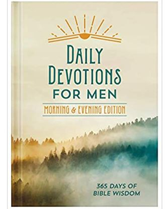 Picture of Daily Devotions for Men: Morning & Evening Edition