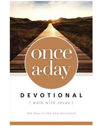 Picture of Once-a-Day Walk with Jesus Devotional: 365 Days in the New Testament