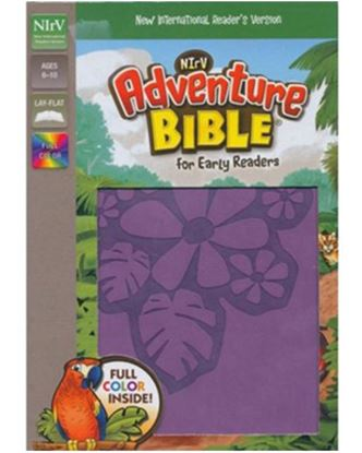 Picture of NIRV Adventure Bible for Early Readers (Tropical Purple)