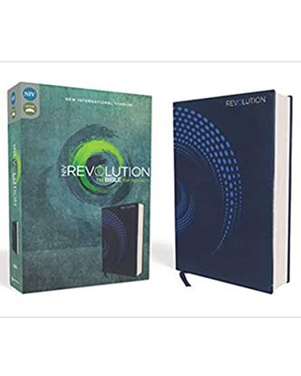 Picture of NIV Revolution Bible for Teen Guys (Blue)