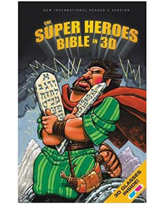 Picture of NIRV The Super Heroes Bible